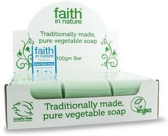 Faith In Nature Organiczne mydła z wyciągiem z rozmarynu 18sztuk x 100g -