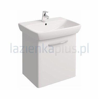 Koło Zestaw meblowy 65 cm umywalka z szafką biały połysk Nova Pro M39025000