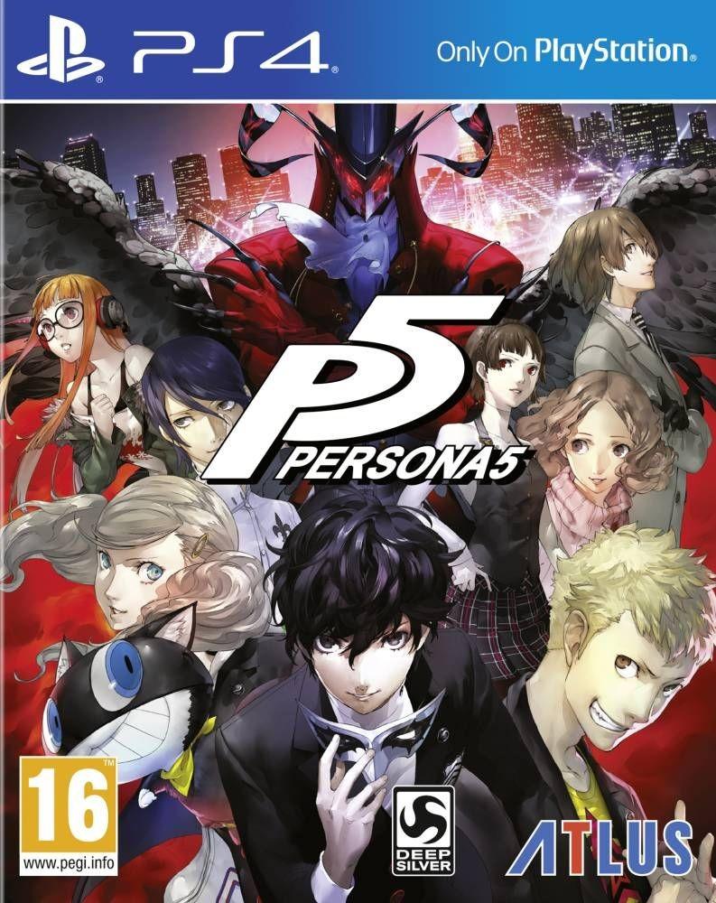 Persona 5 (GRA PS4)