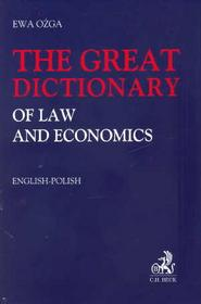 Ożga Ewa The great dictionary of law and economist