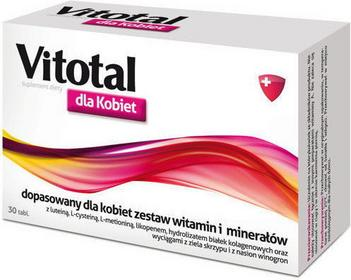 Aflofarm Vitotal dla kobiet 30 szt.