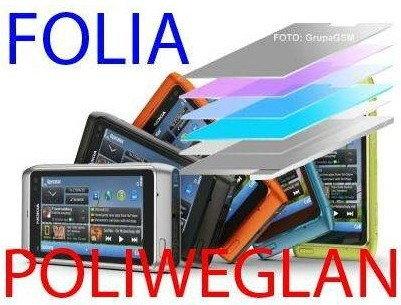 Folia ochronna POLIWĘGLANOWA na Wyświetlacz LCD do IPhone 5 iPhone5 iPhone 5G
