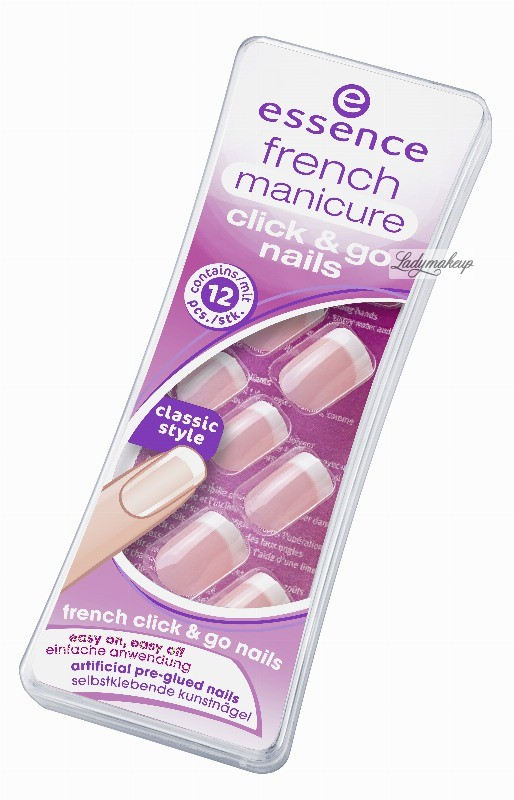 Essence FRENCH manicure click & go nails - Sztuczne paznokcie - 847312 ESS473120