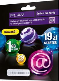 Play Online LTE 2GB 19 zł