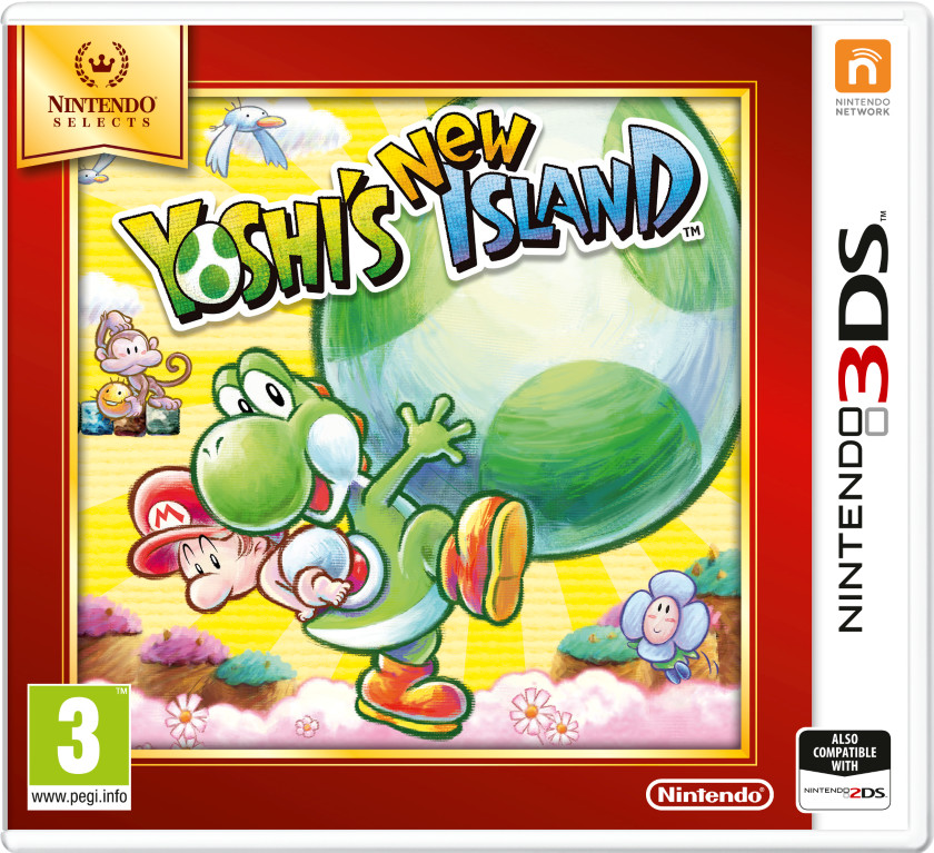 Yoshis New Island - Selects (3DS)