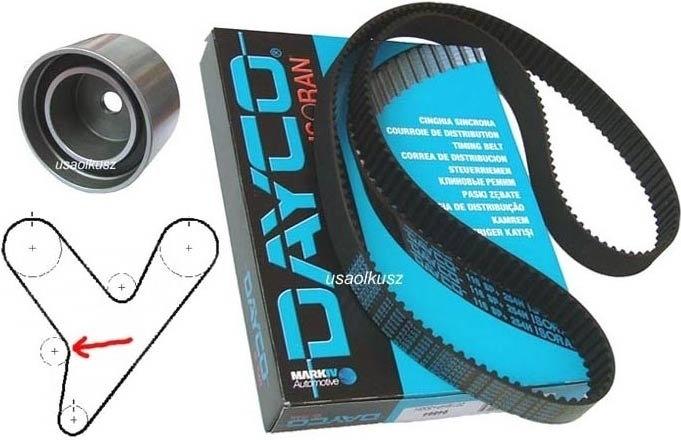 DAYCO Pasek + rolka rozrządu Dodge Nitro 4,0