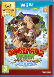 Donkey Kong Country Tropical Freeze Selects WiiU