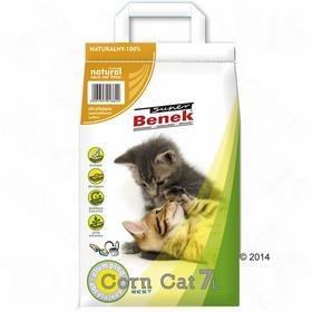 Benek Super CORNCat Naturalny Żwirek dla kota - 40 l