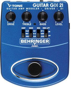 Behringer V-TONE GUITAR DRIVER DI GDI21 - efekt gitarowy