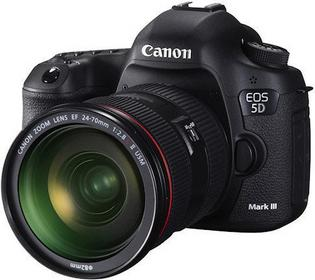 Canon EOS 5D Mark III + 24-70 kit