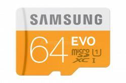 Samsung EVO microSDXC 64GB + czytnik