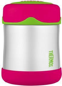 Thermos termos obiadowy oryginalny Foogo Junior 290ml - różowy - Różowy || Zielo