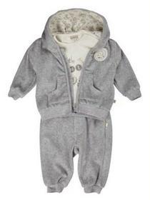 Kanz Baby Komplet 3-częściowy gray melange 0003506_8600