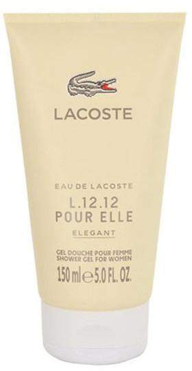 Lacoste Eau de L.12.12 pour Elle Elegant Żel pod prysznic 150 ml