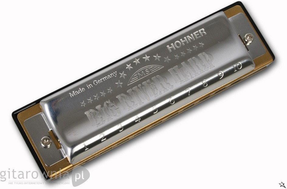 Hohner harmonijki Big River Harp harmonijka ustna w tonacji D - Tonacja