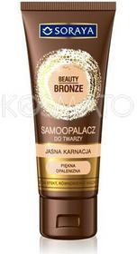 Soraya Beauty Bronze Samoopalacz w kremie do twarzy - jasna karnacja 75ml