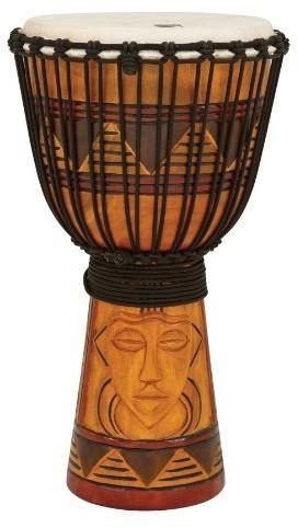 Toca TOCA Djembe Origins Tribal Mask 12