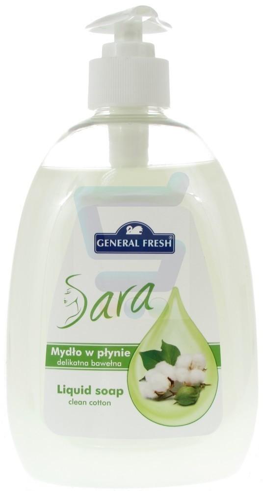 Fresh General Sara Mydło w płynie Delikatna Bawełna 500ml