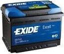 Exide Excell 70Ah 540A EB705 L+