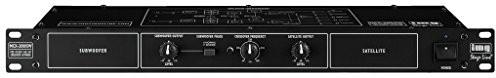 IMG Stage Line MCX-200/SW elektroniczna stereofoniczne zwrotnicę Czarny 24.4170