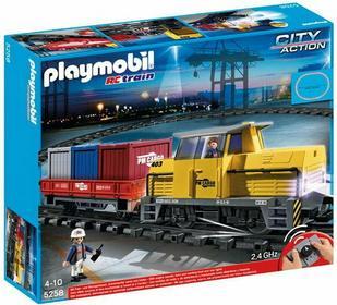 Playmobil Pociąg towarowy RC ze światłem i dźwiękiem 5258