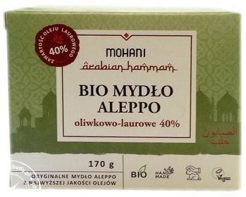Mohani Mydło Aleppo BIO oliwkowo-laurowe 40% 170g