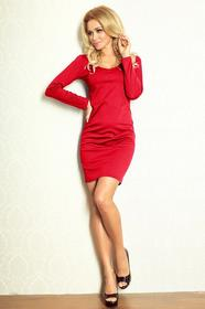 Numoco Sukienka Model 92-3 Simple Red