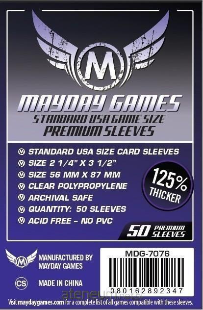 Mayday Games Koszulki Standard American 56x87 (50szt) MAYDAY