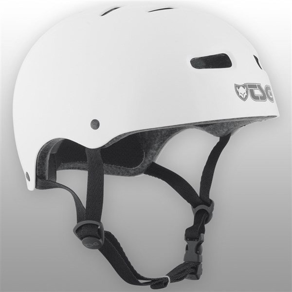 TSG kask - skate/bmx injected color injected white (157)