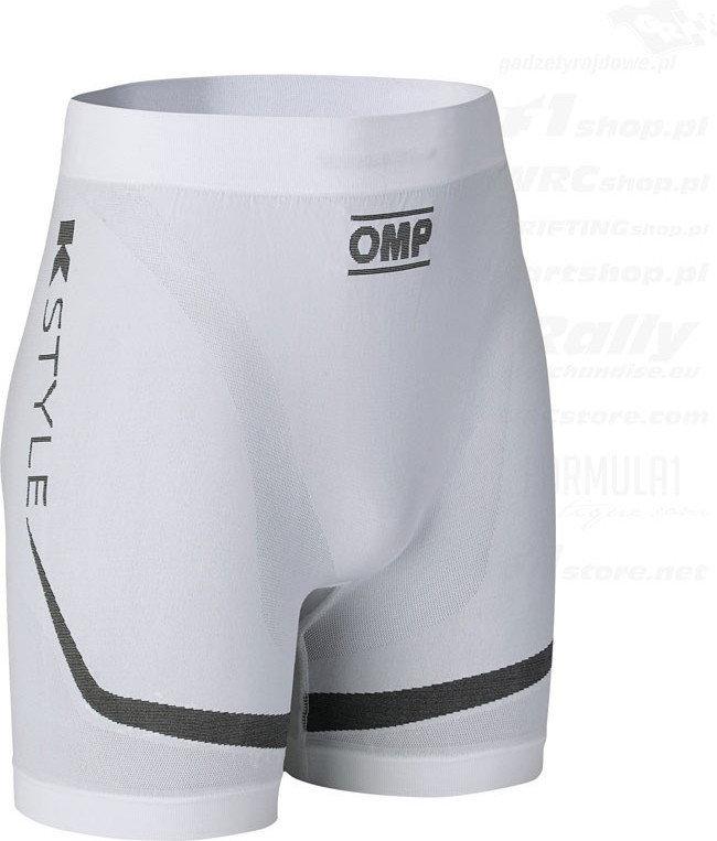 OMP Racing Spodenki KS białe
