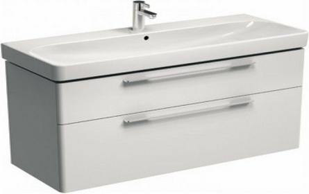 Koło Szafka pod umywalkę TRAFFIC 116,8 x 62,5 x 46,1 cm, wisząca, biały połysk