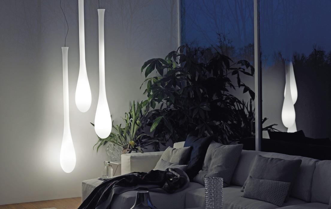 D2.Design Lacrima SP P Vistosi - lampa wisząca SPLACRIPD2BCNI