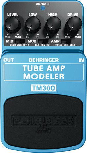 Behringer TUBE AMP MODELER TM300 - efekt gitarowy