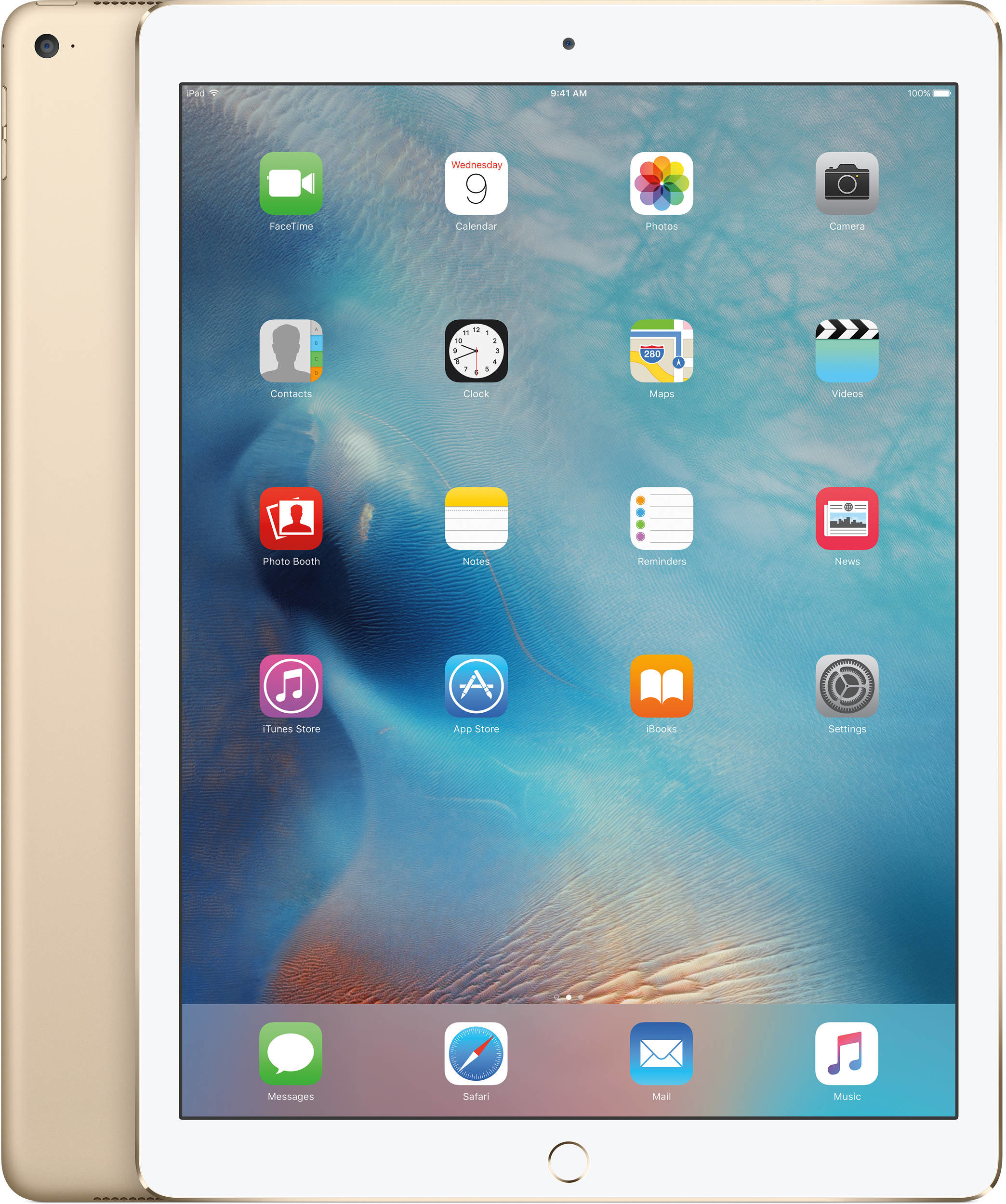 Apple iPad Pro 9.7 32GB LTE Gold (MLPY2FD/A)
