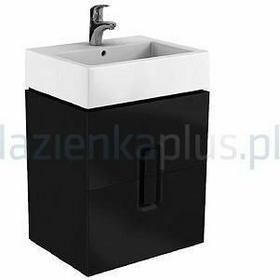 Koło Szafka pod umywalkę 50 cm czarny mat Twins 89491-000