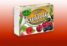 Aka PHU Cukierki Ksylitolki owocowe 40g bez cukru