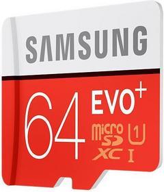 Samsung MicroSDXC Evo Class 10 + adapter 64GB