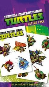 Wojownicze żółwie ninja - Turtles Shellheads - Tatuaż