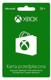 Microsoft Xbox Live 70 Pln Karta Przedpłacona 1282155