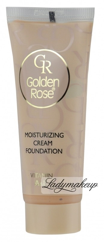 Golden Rose Moisturizing Cream Foundation - Podkład w kremie - 04 GR106-04