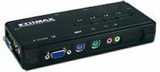 Edimax EK-PAK4 Przełącznik KVM PS2 4 + AUDIO