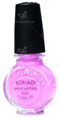 Konad Lakier do wzorków - różowo-pastelowy - 11 ml