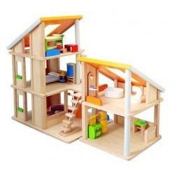 Plan Toys Domek dla lalek z meblami 7141