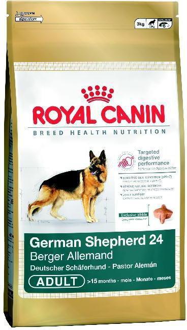 Opinie o Royal Canin German Shepherd 24 Adult 12 kg