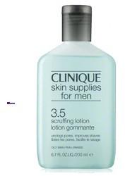 Clinique Skin Supplies For Men Scruffing Lotion Oily Skin M) oczyszczajšcy tonik do twarzy cera tłusta 200ml