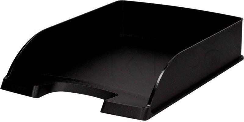 Opinie o Leitz Półka dokumenty A4 czarna Plus LE6249