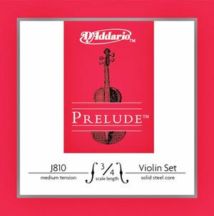 DAddario J-810M Prelude struny do skrzypiec 3/4 DADPJ810MSS34