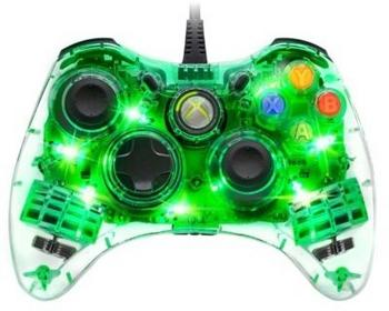 PDP Afterglow Wired Controller for Xbox 360 Green Light