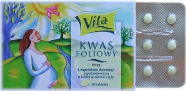 Aflofarm Kwas Foliowy 30 szt.