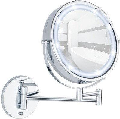 Wenko Naścienne lusterko kosmetyczne Power-Loc LUMI z podświetnielniem LED, powi